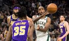 NBA: باكس يهزم ليكرز وسقوط هورنتس على ارضه