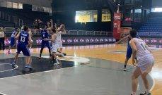 سلة  لبنان: الشانفيل الاكثر تسجيلا وانيبال يكتفي ب 57 نقطة