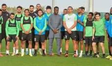 أمارا ديانيه يعود إلى الريان بصفته سفير كأس امم افريقيا 2023