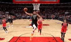 NBA: ميلووكي وتورنتو يعززان صدارتهما على راس المجموعة الشرقية