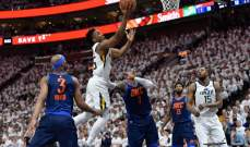 NBA PLAYOFFS : يوتا جاز على بعد خطوة من النصف نهائي