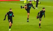 الاصابة تبعد مدافع برشلونة عن مواجهة غرناطة