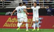 الارجنتين تقسو على المكسيك والاكوادور تفوز على بوليفيا ونتائج اخرى