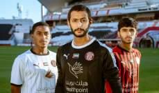 الجزيرة يدشن طقمه الجديد امام اتحاد كلباء