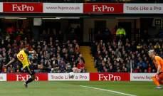 FA CUP: واتفورد يحجز مقعده في نصف النهائي بفوزه على كريستال بالاس