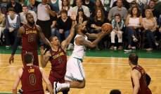 NBA PLAYOFFS : بوسطن يتقدم في افتتاح سلسلة نهائي المجموعة الشرقية