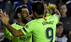 ميسي وسواريز سجلا اكثر من ريال مدريد