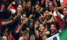 الافريقي بطلا لكأس تونس لكرة القدم