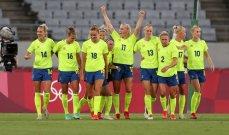 مهاجمة منتخب السويد تتحدث عن اصابتها امام استراليا