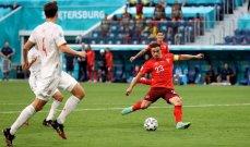 أبرز إحصاءات مواجهة اسبانيا وسويسرا ورجل المباراة