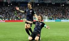مودريتش أفضل لاعب في مباراة الأرجنتين وكرواتيا