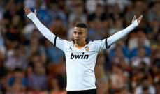 رودريغو يعود لتدريبات فالنسيا بعد فشل انتقاله لـ برشلونة