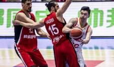 الصين تتخطى سوريا بسهولة في تصفيات بطولة العالم