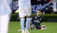 ريال مدريد يحدد نوعية اصابة ريغليون