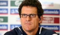 كابيلو: الكرة الايطالية تعيش أزمة ومنتخب روسيا سيجتاز الدور الأول بالمونديال