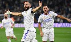 علامات لاعبي مباراة ريال مدريد - سلتا فيغو