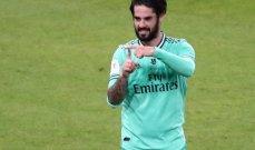 ميلان واثق من التعاقد مع ايسكو من ريال مدريد