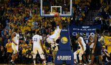 NBA PLAYOFFS : وريورز يفوز على بيليكانز ويتقدم 1-0 في نصف نهائي الغربية