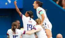 مونديال السيدات: اميركا الى النهائي بفوز صعب على انكلترا