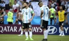 ميسي يغيب عن منتخب بلاده لاول مرة بعد نهائيات كاس العالم 2018