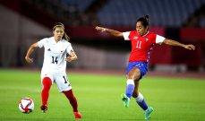 طوكيو 2020: سيدات اليابان الى ربع نهائي منافسات كرة القدم
