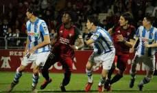 كأس ملك اسبانيا: سوسييداد الى النهائي بعد تجديد الفوز على ميرانديس