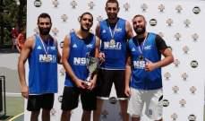 فريق جونيه يحرز لقب بطولة غرب آسيا في ال 3x3