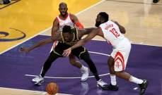 NBA: الروكتس يضيف انتصار جديد الى مسيرته هذا الموسم