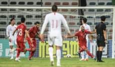 سوريا تعزّز صدارتها للمجموعة الأولى والعراق يتعادل أمام البحرين