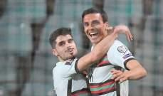 بالينيا: سعيد بهدفي الأول مع البرتغال
