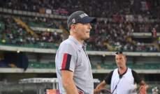 مدرب هيلاس فيرونا متأثر بتواجد ميهايلوفيتش في الملعب