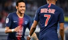 بطولة فرنسا: سان جرمان يحتفل باللقب بثلاثية لمبابي وعودة نيمار