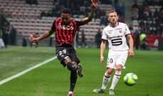 الدوري الفرنسي: تعادل ايجابي بين نيس وليل