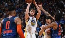 NBA: غولدن ستايت واريرز الى نهائيات المجموعة الغربية
