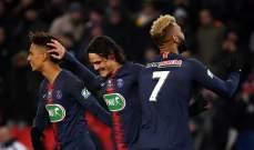 كأس فرنسا: الـ بي أس جي يواصل حملة الدفاع عن لقبه بثنائية امام ستراسبورغ