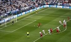 ركلة جزاء ليفربول امام توتنهام صحيحة