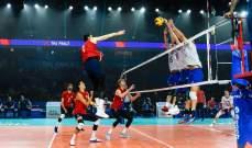 روسيا تفوز بلقب الدوري العالمي للكرة الطائرة امام اميركا