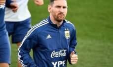الاتحاد الأرجنتيني يحتفل بعودة ميسي من جديد على طريقته
