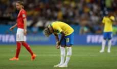 اخفاق برازيلي نادر في كأس العالم