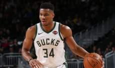 NBA: ميلووكي بدون اي هزيمة في مباريات ما قبل انطلاق الموسم