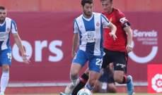 الدوري الاسباني: ريال مايوركا يقهر اسبانيول بثنائية