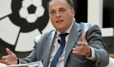 تيباس يشعر بالإطراء لترشيحه لمنصب الرئيس التنفيذي في الدوري الانكليزي