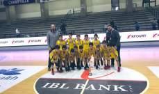 الرياضي يحرز لقب بطولة لبنان تحت 10 سنوات بفوزه على هوبس