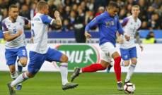 فرنسا وانكلترا يكتسحان ايسلندا ومونتينيغرو وتعادل البرتغال واصابة رونالدو