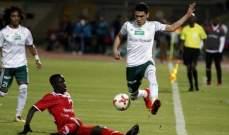 المصري يكتفي بالتعادل مع سيمبا التنزاني ويتأهل