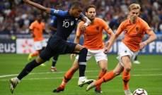 التشكيلة المتوقعة لقمّة هولندا – فرنسا