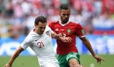 لاعب المنتخب المغربي في قبضة الشرطة البلجيكية