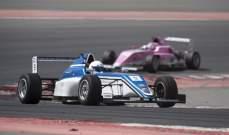 بطولة الامارات للفورمولا- 4  اللبناني الناشئ راشد غانم ثالثاً