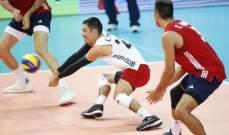 بطولة العالم للكرة الطائرة: اميركا تفوز على روسيا وتتأهل للنصف نهائي