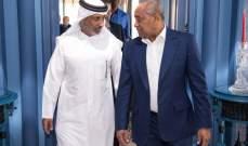 رئيس الاتحاد القطري يولم على شرف الضيوف الافارقة